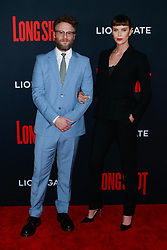 NEW YORK, NY - APRIL 30: Genesis Jones at the New York Premiere of LONG SHOT at AMC Lincoln Square on April 30,2019 in New York City. 30 Apr 2019 Pictured: Charlize Theron and Seth Rogen. Photo credit: MPI99/Capital Pictures / MEGA TheMegaAgency.com +1 888 505 6342