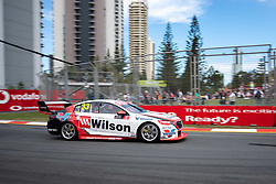 October 19, 2018 - Gold Coast, QLD, U.S. - GOLD COAST, QLD - OCTOBER 19: Chris Pither in the Wilson Security Racing GRM Holden Commodore during Friday practice at The 2018 Vodafone Supercar Gold Coast 600 in Queensland on October 19, 2018. (Photo by Speed Media/Icon Sportswire) (Credit Image: © Speed Media/Icon SMI via ZUMA Press)