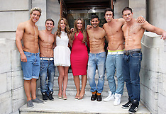 TOWIE girls at Dream Idols casting 9-8-12