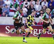 Twickenham, England. Ugo MONYE, during the  Zurich Premiership. Harlequins vs Rotherham Titans The Stoop Surrey. 16.04.2004. [Mandatory Credit: Peter Spurrier/Intersport-images].