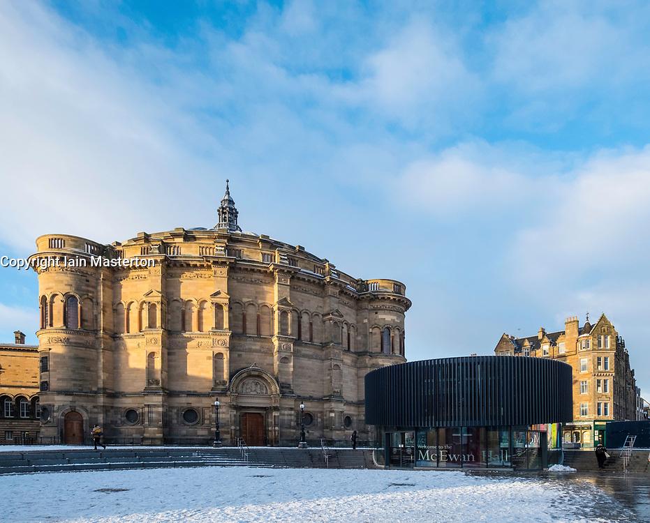 View of McEwan Hall at University of Edinburgh , Scotland, United Kingdom