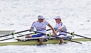Eton. Great Britain. A Final GBR JM2X. Bow Edward GRISEDALE and Joseph GUPPY after the final. Eton Rowing Centre 2011 FISA Junior  World Rowing Championships. Dorney Lake, Nr Windsor. Sunday  07/08/2011   [Mandatory credit: Peter Spurrier Intersport Images]