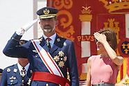 071415 Spanish Royals Visit Air Force General Academy in San Javier