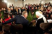 CARL MICHAELSON;  PRINCESS MICHAEL OF KENT, Stephane St. Jaymes Spring Summer 2011 fashion show.<br /> The Westbury Mayfair, Bond Street, London,DO NOT ARCHIVE-© Copyright Photograph by Dafydd Jones. 248 Clapham Rd. London SW9 0PZ. Tel 0207 820 0771. www.dafjones.com.