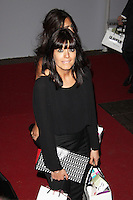 LONDON - June 04: Claudia Winkleman leaving the Glamour Awards 2013 (Photo by Brett D. Cove)