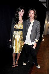 CAROLINE SIEBER and EDWARD TANG at a party to celebrate the launch of Billionaire Boys Club Ice Cream Season 7 at Harvey Nichols, Knightsbridge, London on 18th June 2008.<br /><br />NON EXCLUSIVE - WORLD RIGHTS