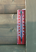 A thermometer in Daisetsuzan National Park, Hokkaid?, Japan