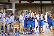 Trieste 8 Settembre 2012 Qualificazioni Europei 2013 Italia Bielorussia<br /> Foto Ciamillo<br /> Nella foto : team italia