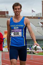 30-07-2011 ATLETIEK: NK OUTDOOR: AMSTERDAM<br /> Thomas Kortbeek series 400 meter horden mannen - AA Drink<br /> ©2011-FotoHoogendoorn.nl / Peter Schalk