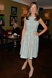 HEATHER KERZNER at a party to launch Madderson London Women's Wear held at Beaufort House, 354 Kings Road, London on 23rd January 2014.