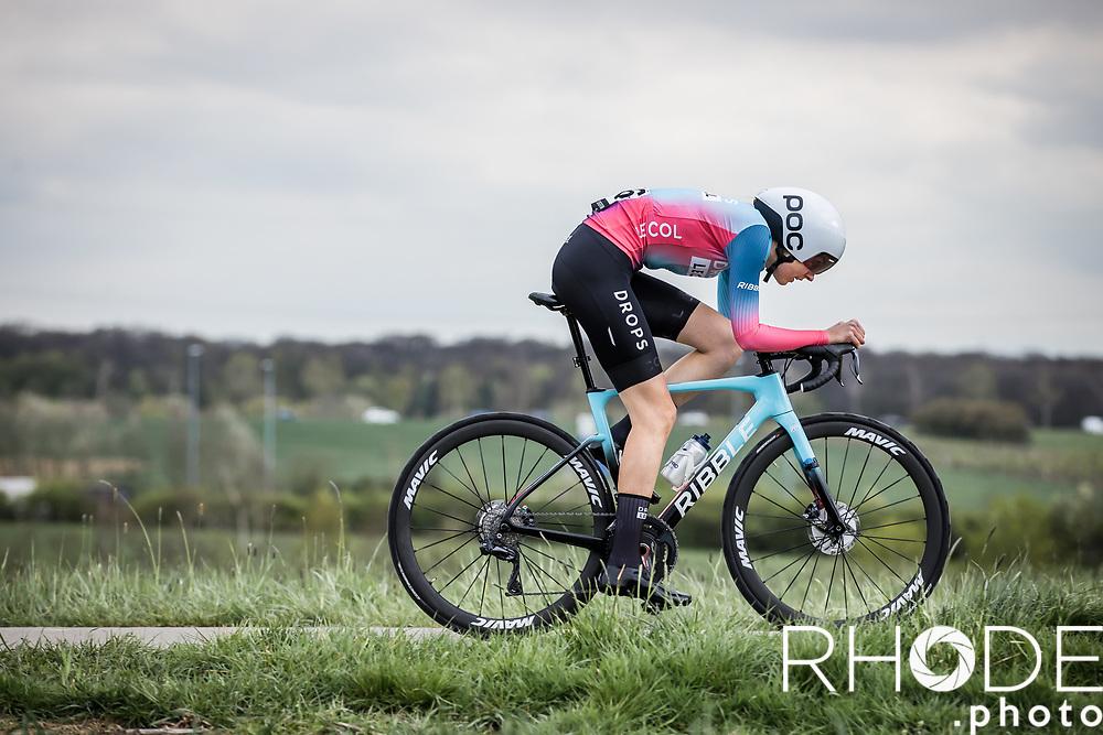 Finja Smekal (GER/Drops-Le Col)<br /> <br /> Ceratizit Festival Elsy Jacobs (LUX) 2021<br /> UCI Women Elite 2.1<br /> Day 1 - prologue : Individual Time Trial (ITT) – Cessange (LUX) 2.2km <br /> <br /> ©RhodePhoto