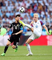 Argentina v Iceland - 16 June 2018