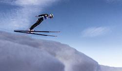 21.02.2019, Bergiselschanze, Innsbruck, AUT, FIS Weltmeisterschaften Ski Nordisch, Seefeld 2019, Nordische Kombination, Skisprung, Training, im Bild Lukas Klapfer (AUT) // Lukas Klapfer of Austria during a training of Ski Jumping competition for Nordic Combined of FIS Nordic Ski World Championships 2019. Bergiselschanze in Innsbruck, Austria on 2019/02/21. EXPA Pictures © 2019, PhotoCredit: EXPA/ JFK