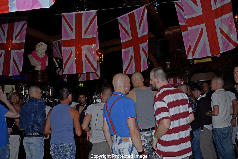 Gay pub in Soho London