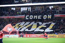 March 15, 2019 - Lille, France - ILLUSTRATION - SUPPORTERS - TIFO (Credit Image: © Panoramic via ZUMA Press)