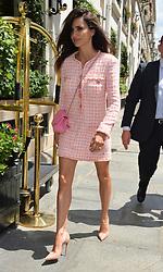 Penelope Cruz seen arriving at le Bristol hotel Paris<br /><br />3 July 2018.<br /><br />Please byline: PalaceLee/Vantagenews.com