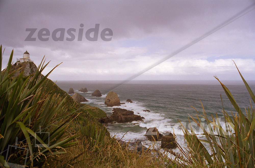 The lighthouse of Nugget Point in the Catlins in 2001.
