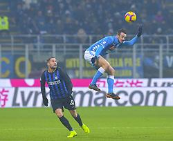 Italy, Bergamo -  December 24, 2018.Soccer - Football  Inter 1-0 win over Napoli .Fabian Ruiz of Napoli  during the italian serie a soccer match (Credit Image: © Ciro De Luca/Ropi via ZUMA Press)