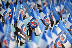 A general view of Bath Rugby flags in the stands - Mandatory byline: Patrick Khachfe/JMP - 07966 386802 - 30/04/2017 - RUGBY UNION - The Recreation Ground - Bath, England - Bath Rugby v Gloucester Rugby - Aviva Premiership.