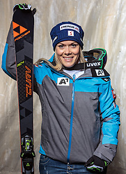 08.10.2016, Olympia Eisstadion, Innsbruck, AUT, OeSV Einkleidung Winterkollektion, Portraits 2016, im Bild Andrea Limbacher, Skicross, Damen // during the Outfitting of the Ski Austria Winter Collection and official Portrait Photoshooting at the Olympia Eisstadion in Innsbruck, Austria on 2016/10/08. EXPA Pictures © 2016, PhotoCredit: EXPA/ JFK