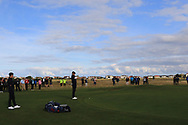 Harry Hall (GB&I) on the 5th during Day 2 Foursomes of the Walker Cup, Royal Liverpool Golf CLub, Hoylake, Cheshire, England. 08/09/2019.<br /> Picture Thos Caffrey / Golffile.ie<br /> <br /> All photo usage must carry mandatory copyright credit (© Golffile   Thos Caffrey)