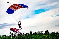 RAF Falcons at the Midlands Air Festival Photo by Chris wynne