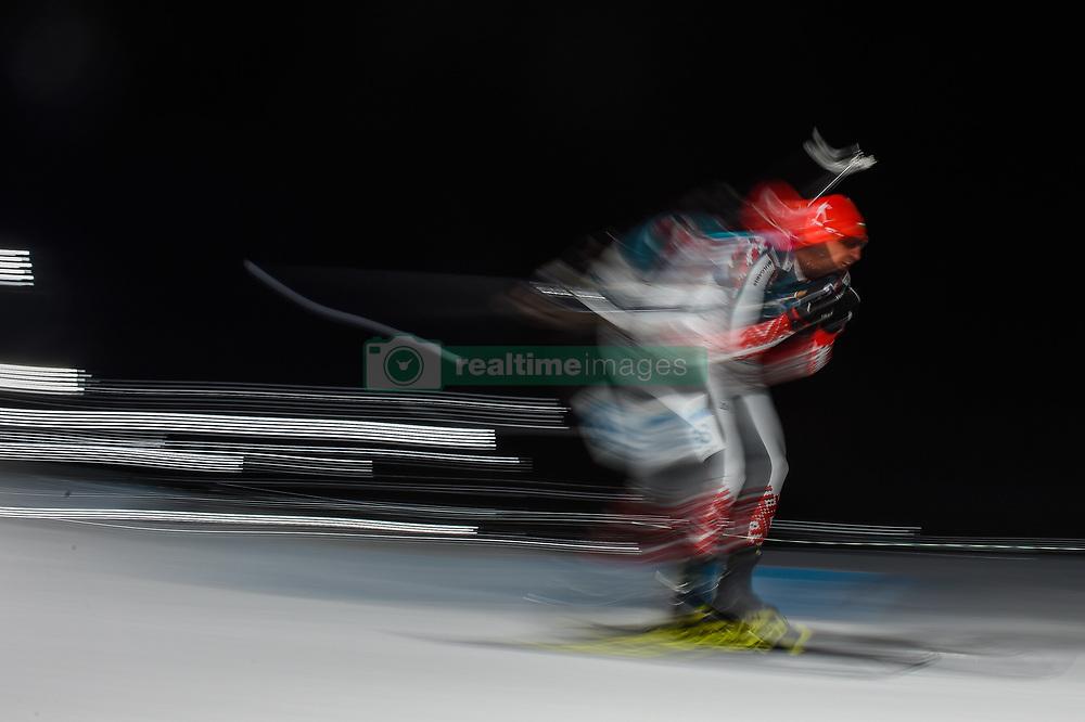 February 11, 2018 - Pyeongchang, Gangwon, South Korea - Vladimir Iliev ofBulgaria  at Mens 10 kilometre sprint Biathlon at olympics at Alpensia biathlon stadium, Pyeongchang, South Korea on February 11, 2018. (Credit Image: © Ulrik Pedersen/NurPhoto via ZUMA Press)