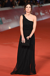 Sara Cardinaletti during the red carpet for The House With A Clock in its Walls premiere at the Rome Film Fest on October 19, 2018