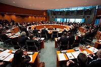 03 NOV 2010, BERLIN/GERMANY:<br /> Uebersicht Saal vor Beginn der Tagung des 4. Integrationsgipfels, Internationaler Konferenzsaal, Bundeskanzleramt<br /> IMAGE: 20101103-02-013<br /> KEYWORDS: Integration, Auslaenderpolitik, Migration, Übersicht