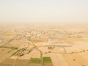 View of the Sindh plains on  the outskirt of Jacobabad.