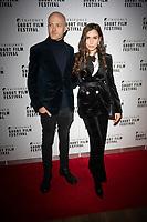 Adam Morse and Julia Varvara  at the TriForce Short Film Festival gala ceremony, BFI Southbank, London, UK - 30 Nov 2019