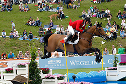 Hemeryck Rik (BEL) - Challenge vd Begijnakker<br /> FEI Nations Cup Sankt Gallen 2011<br /> © Hippo Foto - Beatrice Scudo