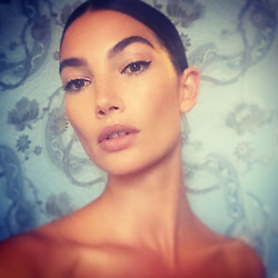 """Lily Aldridge releases a photo on Instagram with the following caption: """"\ud83e\udd8b"""". Photo Credit: Instagram *** No USA Distribution *** For Editorial Use Only *** Not to be Published in Books or Photo Books ***  Please note: Fees charged by the agency are for the agency's services only, and do not, nor are they intended to, convey to the user any ownership of Copyright or License in the material. The agency does not claim any ownership including but not limited to Copyright or License in the attached material. By publishing this material you expressly agree to indemnify and to hold the agency and its directors, shareholders and employees harmless from any loss, claims, damages, demands, expenses (including legal fees), or any causes of action or allegation against the agency arising out of or connected in any way with publication of the material."""
