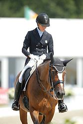 Page Arlene, (USA), Alina <br /> Grand Prix CDI4*<br /> CDIO Hagen 2015<br /> © Hippo Foto - Stefan Lafrentz<br /> 10/07/15