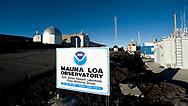 Mauna Loa Observatory, Hilo, Hawaii.