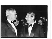 Ted Turner, Gerge Soros, Committe to protect Jornalists Awards, 6th December 1995© Copyright Photograph by Dafydd Jones 66 Stockwell Park Rd. London SW9 0DA Tel 020 7733 0108 www.dafjones.com