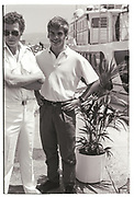 LACHLAN MURDOCH, Party in the harbour on Rupert Murdoch's yacht.  Forbes weekend, TANGIER 1989