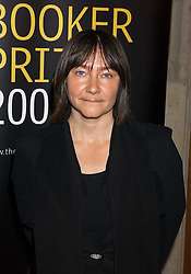 Writer ALI SMITH a finalist in the 2005 Man Boker Prize at a dinner to announce the 2005 Man Booker Prize held at The Guilhall, City of London on 10th October 2005.<br /><br />NON EXCLUSIVE - WORLD RIGHTS