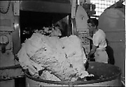 09/08/1962<br /> 08/09/1962<br /> 09 August 1961<br /> Bolands Bakery feature, interiors of Bolands factory, Grand Canal Street, Dublin.