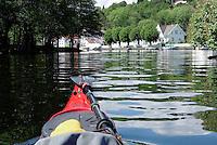 Kayaking Nidelva, Arendal