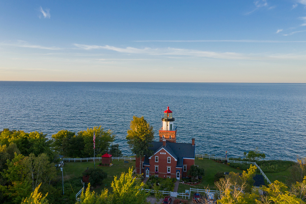 The Big Bay Lighthouse bed and breakfast in Big Bay, Michigan.