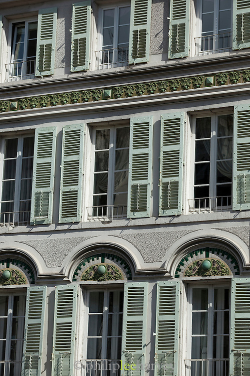 Architecture in Clermont-Ferrand, France