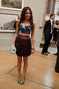Eliza Doolittle, Royal Academy of Arts Summer Exhibition Preview Party 2011. Royal Academy. Piccadilly. London. 2 June <br /> <br />  , -DO NOT ARCHIVE-© Copyright Photograph by Dafydd Jones. 248 Clapham Rd. London SW9 0PZ. Tel 0207 820 0771. www.dafjones.com.