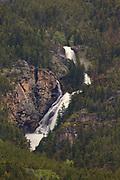 Woodbine Falls, Stillwater County, Montana.