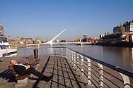 An afternoon nap along Rio de la Plata