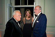 JOHN RICHARDSON; COSIMA VON BULOW; CLAUS VON BULOW, Nicky Haslam party for Janet de Botton and to celebrate 25 years of his Design Company.  Parkstead House. Roehampton. London. 16 October 2008.  *** Local Caption *** -DO NOT ARCHIVE-© Copyright Photograph by Dafydd Jones. 248 Clapham Rd. London SW9 0PZ. Tel 0207 820 0771. www.dafjones.com.