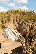 Gibbon Falls, Yellowstone National Park, Wyoming.
