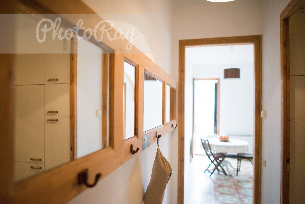 Location & Lifestyle shoot of new open-plan designed refurb apartment in Barcelona's trendy Poble Nou barrio, just a few blocks away from the Mediterranean. © Joe Lasky Photography