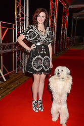 ASHLEIGH BUTLER and Pudsey winners of Britains Got Talent at the Collars & Coats Gala Ball in aid of Battersea Dogs & Cats Home held at Battersea Evolution, Battersea Park, London on 7th November 2013.
