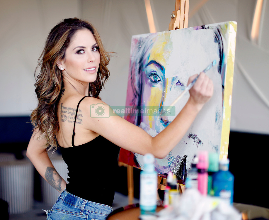 EXCLUSIVE: Stunning model Brittney Palmer shows off not only her impressive bikini figure but also her skills as a fully fledged artist. The former UFC 'Octogon Girl' and pin up went from the ring to an in demand artist selling works for upwards of $25,000 and displaying works at this years famed Art Basel in Miami,FL. He famous clients include Floyd Mayweather and Connor McGregor. 03 Jan 2018 Pictured: Brittney Palmer. Photo credit: MOVI Inc. / MEGA TheMegaAgency.com +1 888 505 6342